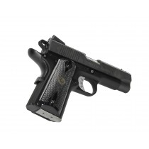 Pachmayr Renegade Wood Laminate 1911 Officer Double Diamond Charcoal Checkered