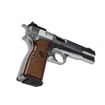 Pachmayr Renegade Wood Laminate Browning HI Power Rosewood Checkered