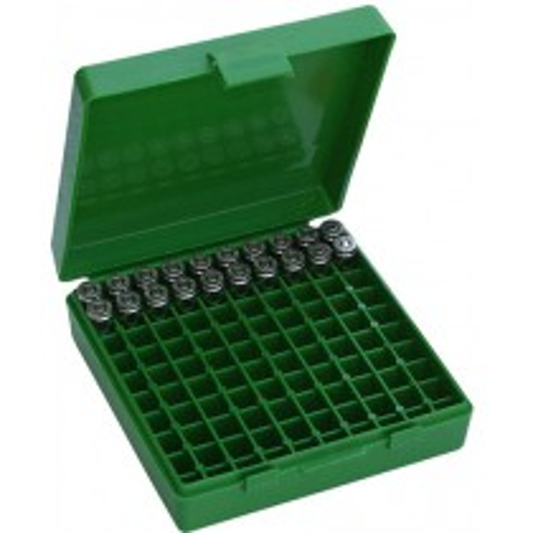 MTM P100-9 Boite à Munitions 9mm, 380 Vert