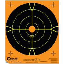 Caldwell Orange Peel Cible 20cm Autocollante Bullseye x10