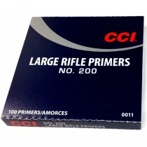 CCI Amorces APS 200 Large Rifle Strips X1000