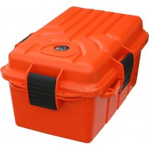 MTM Survivor Grande Boîte de Transport Survie Etanche 25X17.8X12.7cm Orange