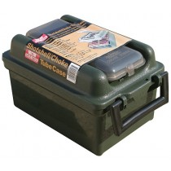 MTM SW-100 Boîte Shotshell / Choke Tube 100 Munitions Calibre 12 16 20 Jusqu'à 762mm Vert