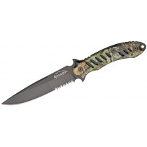 Remington F.A.S.T. Zombie Hunter Couteau à Lame Fixe 13.2 CM Mossy Oak