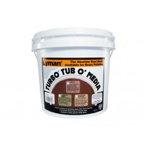 "Lyman Jumbo Turbo ""Tub O'Media"" Corncob plus 7.25kg"