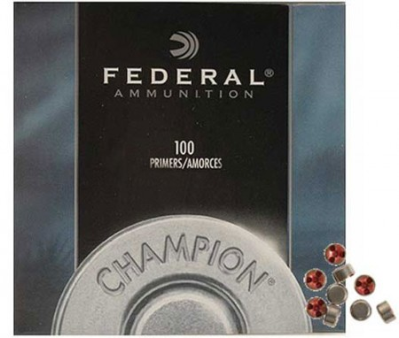 Federal Amorces Small Rifle #205 x1000